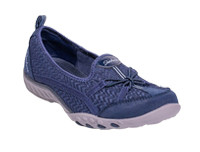 Skechers Ladies Active Breathe Easy 23810-NVY