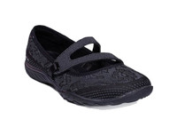 Skechers Ladies Active Breathe Easy 23831-BLK
