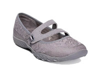 Skechers Ladies Active Breathe Easy 23831-GRY