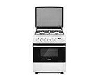 Abans 50cm Free Standing Gas Cooker - White