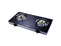 Abans 2 Burner Glass Top Gas Stove
