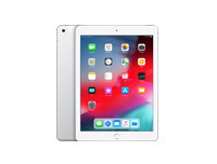 Apple iPad Wi-Fi + Cellular 128GB - Silver - 2018