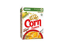 Nestlé GOLD CORN FLAKES Breakfast Cereal 275g Box