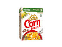 Nestlé GOLD CORN FLAKES Breakfast Cereal 150g Box