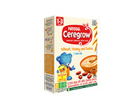 Nestle CEREGROW Junior Cereal with Milk What, Honey & Dates with Milk from 1-3 years 250g