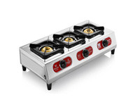 Butterfly Three Burner LPG  Stove - Friendly