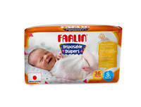 Farlin Tape Diaper New Born Value Pack (58 Pcs)