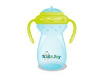 BDLP-KIDS JOY SIPPY CUP WITH HANDLE -BLUE