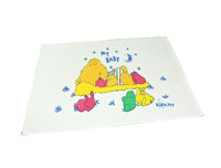 Kids Joy Airfilled Rubber Cot Sheet 60 X 45 Printed