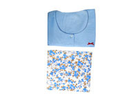 Kids Joy Bed Jacket & Cheetha - L-Blue