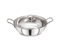 Pristine 3L Cooking Pot with Glass Lid