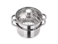 Pristine 2.5L Stainless Steel Steamer 2 Tier