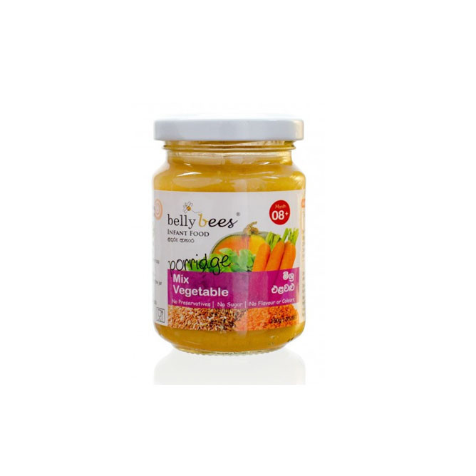 Bellybees  Infant Mix Veg And Red Rice Puree 150g