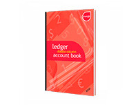 Mango A4 Ledger Double-Column Accounts Book - 80P