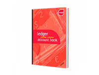 Mango A4 Ledger Double-Column Accounts Book - 320P