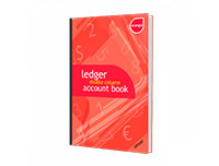 Mango A4 Ledger Double-Column Accounts Book - 200P