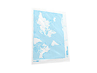 Rathna World Map Divided - 100 Sheets Pack