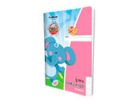 ProMate EX Double Ruled Quarter Inch Book 80P