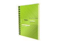ProMate A4 Hardcover Flip-on Spiral Pad 200P