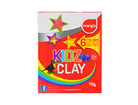 Mango Kidz Clay Strips 110g - 6 Colors Pack