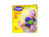 Drypers Classic Dry Medium 72pcs