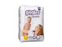 Giggles Baby Diapers Large 32pcs