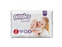 Giggles Baby Diapers Medium 36pcs