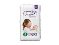 Giggles Baby Diapers Small 40pcs