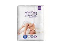 Giggles Baby Diapers Xl 25pcs