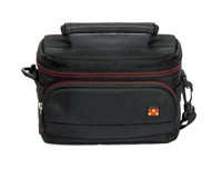 PROMATE HANDYPAK2-S COMPACT CAMERA AND CAMCORDER SHOULDER BAG WITH FRONT POCKET AND BATTERY STORAGE