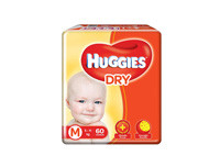 Huggies Dry Medium 60