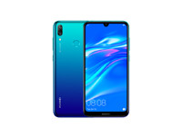Huawei Y7 Pro Blue with Fingerprint & Face Unlock