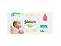 Johnsons Baby Cotton Touch Wipes 56pcs