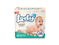 Lody Baby Premium Comfort Diapers Large 30pcs