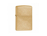 Zippo Lighter Plain Gold Dust Brass