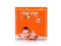 Marvel Baby Diapers Xl 16pcs
