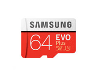 Samsung 64GB Evo Plus Memory Card MB-MC64G