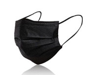 Reusable non Woven Black Mask - 10PCs