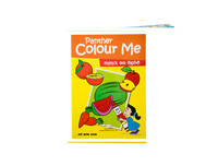 Panther Colour Me Book - Fruits And Vegetables