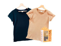 Paata Small Size T-Shirt Value Pack - Black & Nude