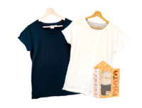 Paata Small Size T-Shirt Value Pack - Black & White