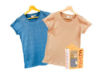 Paata Large Size T-Shirt Value Pack - Blue & Nude