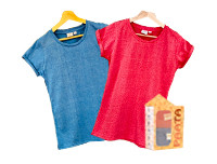 Paata Large Size T-Shirt Value Pack - Blue & Red