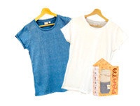 Paata Medium Size T-Shirt Value Pack - Blue & White