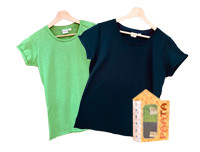 Paata Small Size T-Shirt Value Pack - Green & Black