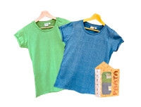Paata Small Size T-Shirt Value Pack - Green & Blue