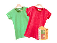 Paata Large Size T-Shirt Value Pack - Green & Red