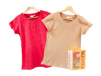 Paata Small Size T-Shirt Value Pack - Red & Nude