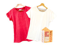 Paata Medium Size T-Shirt Value Pack - Red & White