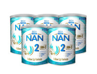 Nestle Pack of 5 NAN HMO 2 Follow Up Formula with Iron 6-12 Months 400g